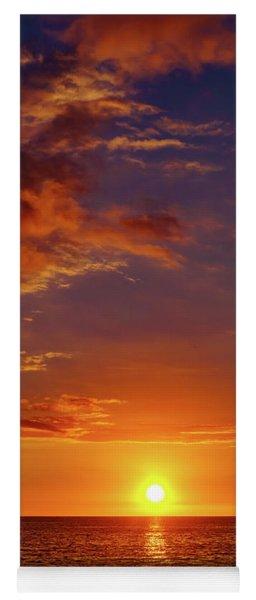 Monday Sunset Yoga Mat