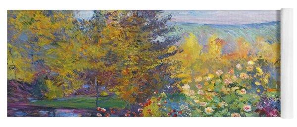Monet In The Park Yoga Mat