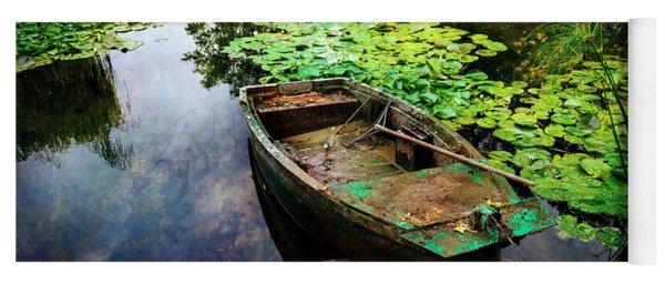 Monet's Gardeners Boat Yoga Mat