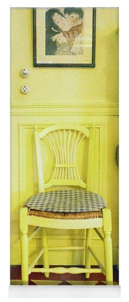 Monet's Kitchen Yellow Chair Yoga Mat