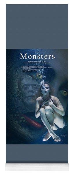 Monsters Yoga Mat