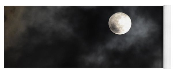 Moon In The Still Of The Night Yoga Mat