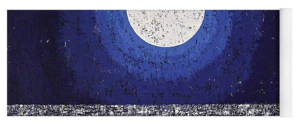 Moonbathing Original Painting Yoga Mat