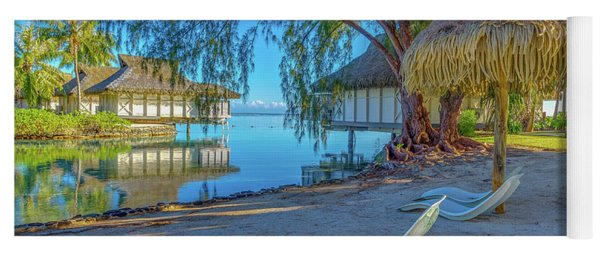 Mo'orea French Polynesia Morning Scene Yoga Mat