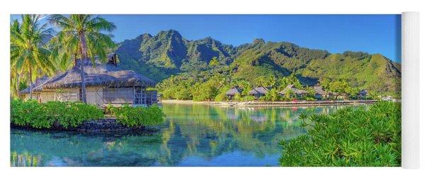Mo'orea French Polynesia Yoga Mat