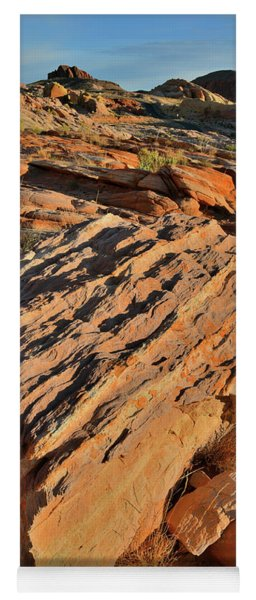 Morning At Valley Of Fire's Wash 4 Yoga Mat