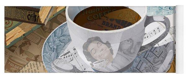 Morning Coffee Yoga Mat