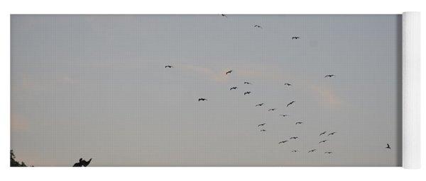 Morning Flock Rise Yoga Mat