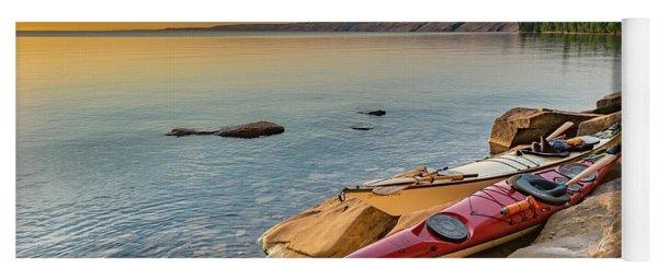 Morning Kayaks Yoga Mat