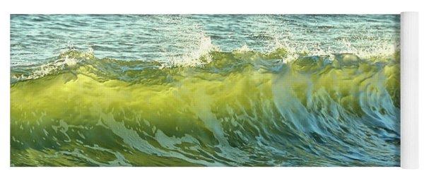 Morning Ocean Break Yoga Mat