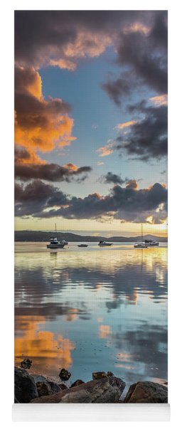 Morning Reflections Waterscape Yoga Mat