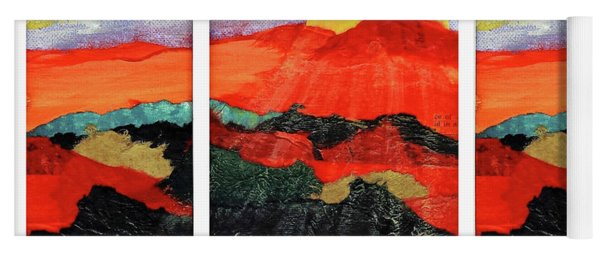 Morning's Promise Triptych Yoga Mat