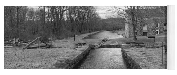 Morris Canal And Lock - Waterloo Village Yoga Mat