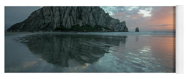Morro Rock Sunset Yoga Mat
