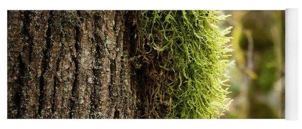 Moss On Bark Yoga Mat