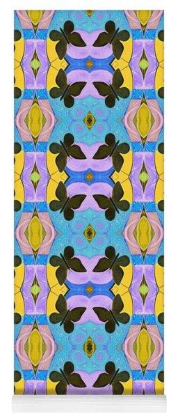 Moths 4 Yoga Mat