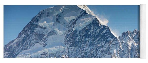 Mount Cook Aoraki Summit Ridge Yoga Mat