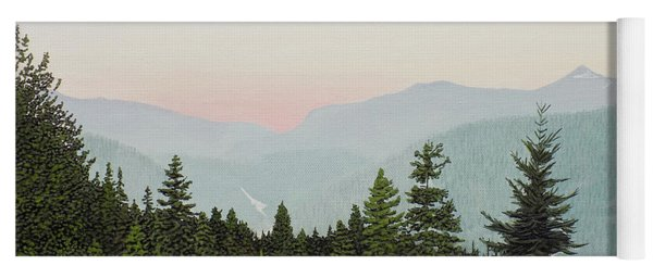 Mountain Dusk Yoga Mat