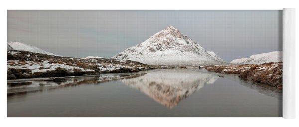Mountain Sunrise - Glencoe - Scotland Yoga Mat
