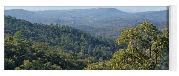 Mountains Of Loule. Serra Do Caldeirao Yoga Mat