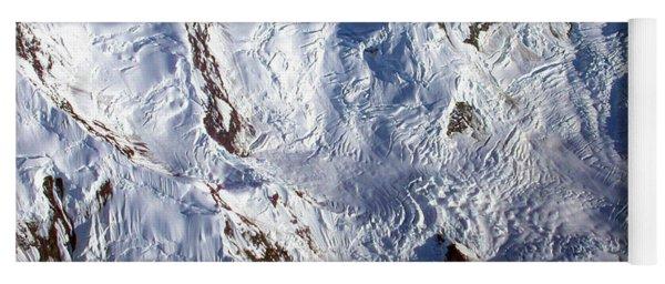 Mountaintop Snow Yoga Mat