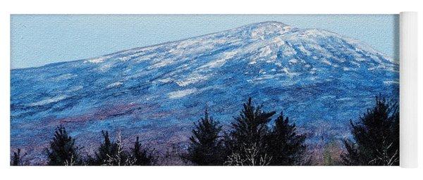 Mt. Monadnock Spring Snow Yoga Mat