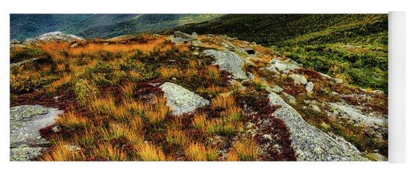 Mt. Washington Nh, Autumn Rays Yoga Mat