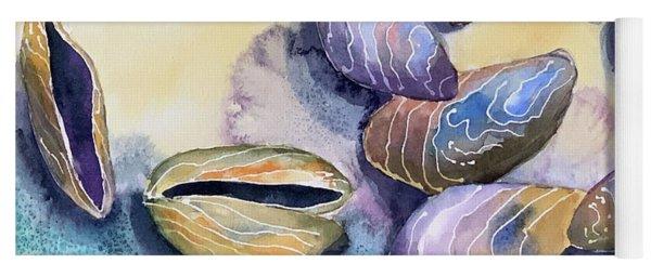 Mussels Sea Shells  Yoga Mat