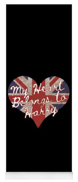 My Heart Belongs To Prince Harry Yoga Mat
