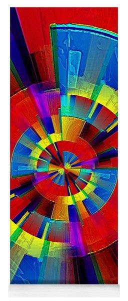 My Radar In Color Yoga Mat