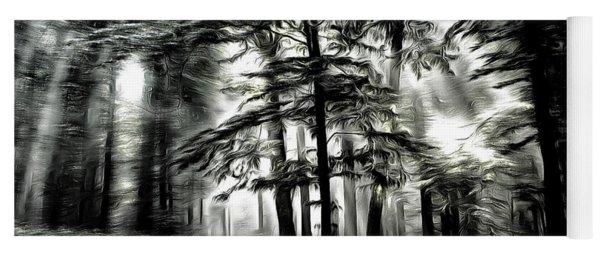Mystical Forest Yoga Mat