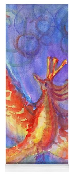 Mystical Phoenix Yoga Mat