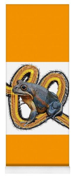 N Is For Northern Banjo Frog Yoga Mat
