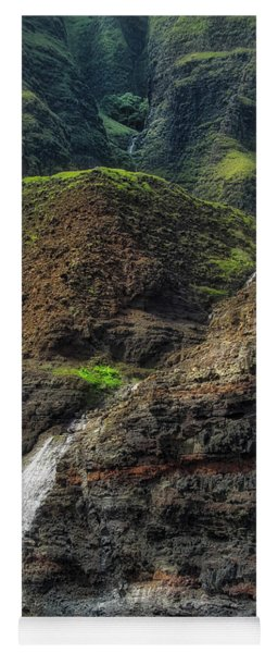 Na Pali Coast Waterfall Yoga Mat