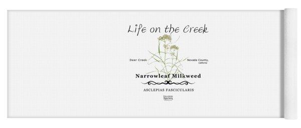 Narrowleaf Milkweed Yoga Mat