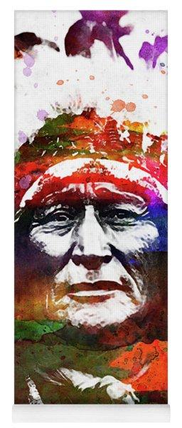 Native American Indian 4 Yoga Mat