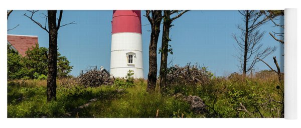Nauset Lighthouse On The 4th Of July Yoga Mat