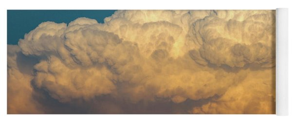 Nebraska Sunset Thunderheads 053 Yoga Mat