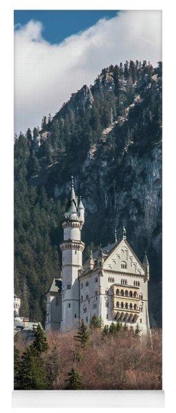 Neuschwanstein Castle On The Hill 2 Yoga Mat