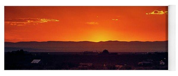 New Mexico Sunset Yoga Mat