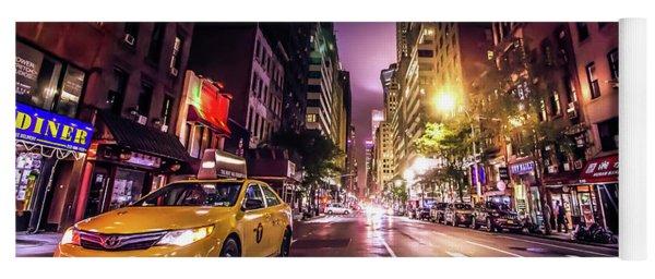 New York City Street Yoga Mat