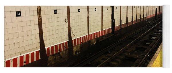 New York City Subway Line Yoga Mat