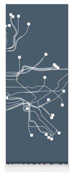 New York Subway Map I Yoga Mat