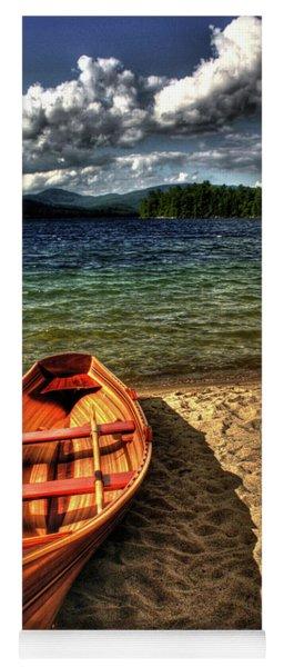 Newfound Lake Rowboat Yoga Mat
