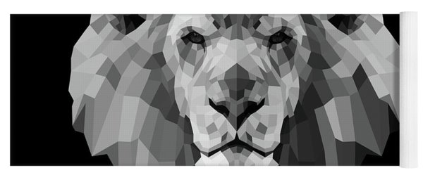 Night Lion Yoga Mat