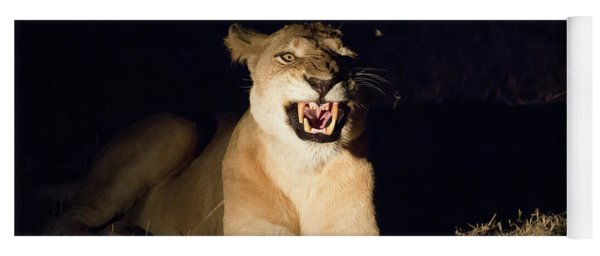 Nightmare Lioness Yoga Mat