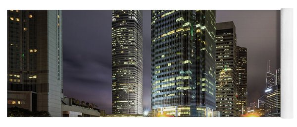Nights Of Hong Kong Yoga Mat