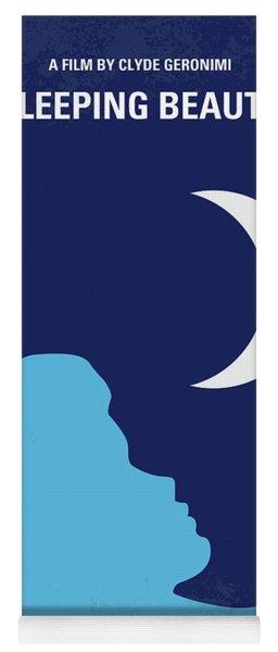 No1017 My Sleeping Beauty Minimal Movie Poster Yoga Mat