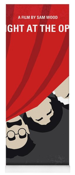 No1053 My A Night At The Opera Minimal Movie Poster Yoga Mat