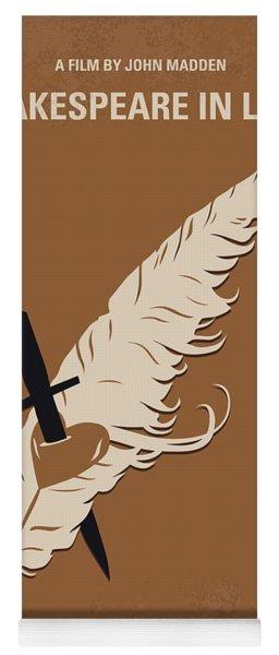 No1071 My Shakespeare In Love Minimal Movie Poster Yoga Mat